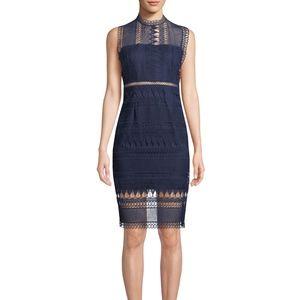 Bardot Mariana Sleeveless Lace Body-Con Dress 639